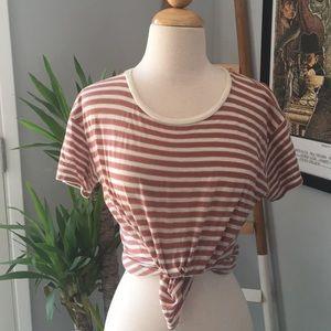 Madewell striped tshirt